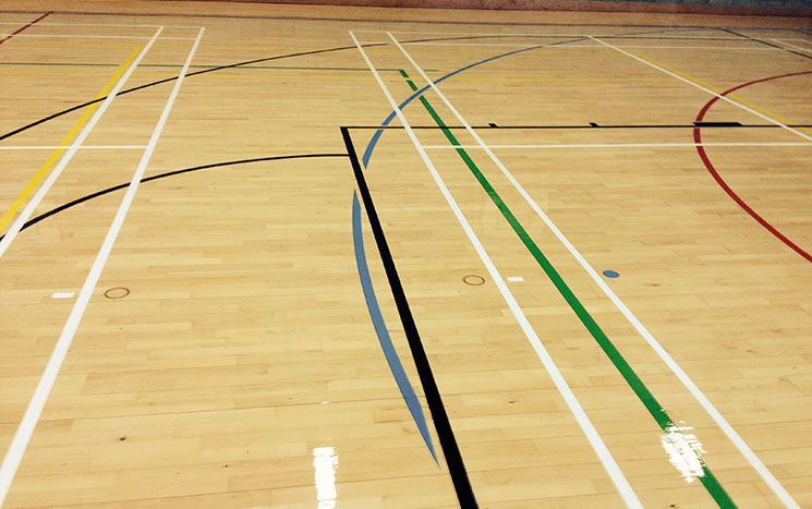 Sports Hall Gymnasium Refurbishment
