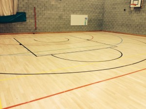Sports Hall Gymnasium Refurbishment BEFORE